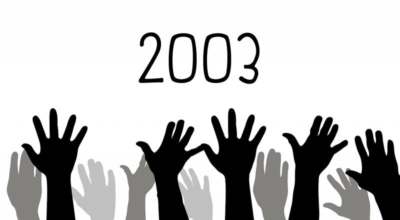 Arrinconados Resultados Elecciones 2003