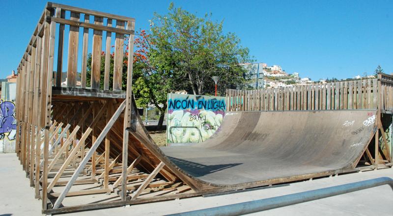 Estado del skatepark de Rincón de la Victoria