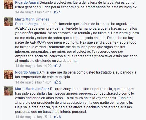 Arrinconados FeriaTapa FB