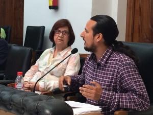 Arrinconados Fernández Ibar en Pleno