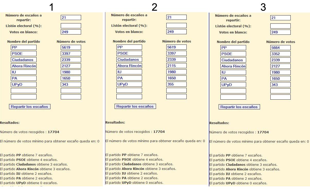 Arrinconados_Simulaciones