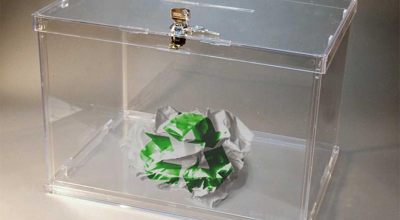 Arrinconados voto reciclado