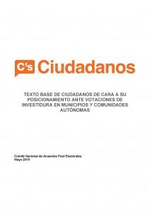 Arrinconados Condiciones Ciudadanos
