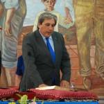 Sergio Díaz (PP) jura el cargo.