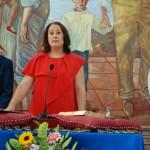 Encarnación Anaya (PSOE) promete el cargo.