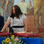 Yolanda Florido (PSOE) promete el cargo.