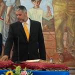 Óscar Campos (Ciudadanos) promete el cargo.