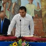 Ezequiel Carnero (Ahora Rincón) promete el cargo.
