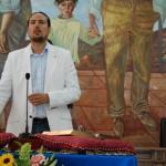 Pedro Fernández (IU) promete el cargo.
