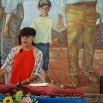 Alina Caravaca (IU) promete el cargo.