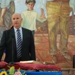 José Mª Gómez 'Pepín' (PA) promete el cargo.