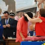 Entrega de medalla a Carnero (PP).