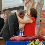 Entrega de medalla a Díaz (PP).