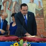 Antonio Manuel Rando (PP) jura el cargo.