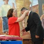 Entrega de medalla a Campos (Ciudadanos).