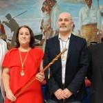 Fernández (IU), Anaya (PSOE), Moreno (Ahora Rincón) y Gómez 'Pepín' (PA).