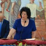 Pilar Delgado (PP) promete el cargo.