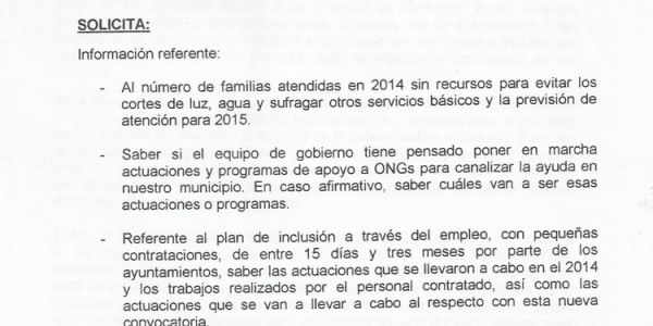 Decreto-Ley 8/2014 de medidas extraordinarias y urgentes para la inclusión social a través del empleo y el fomento de la solidaridad en Andalucía (30-03-2015)