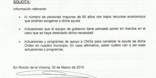 Subvenciones en régimen de concurrencia competitiva para el apoyo a la Red de Solidaridad y Garantía Alimentaria de Andalucía em 2015 ante nueva convocatoria (30-03-2015)