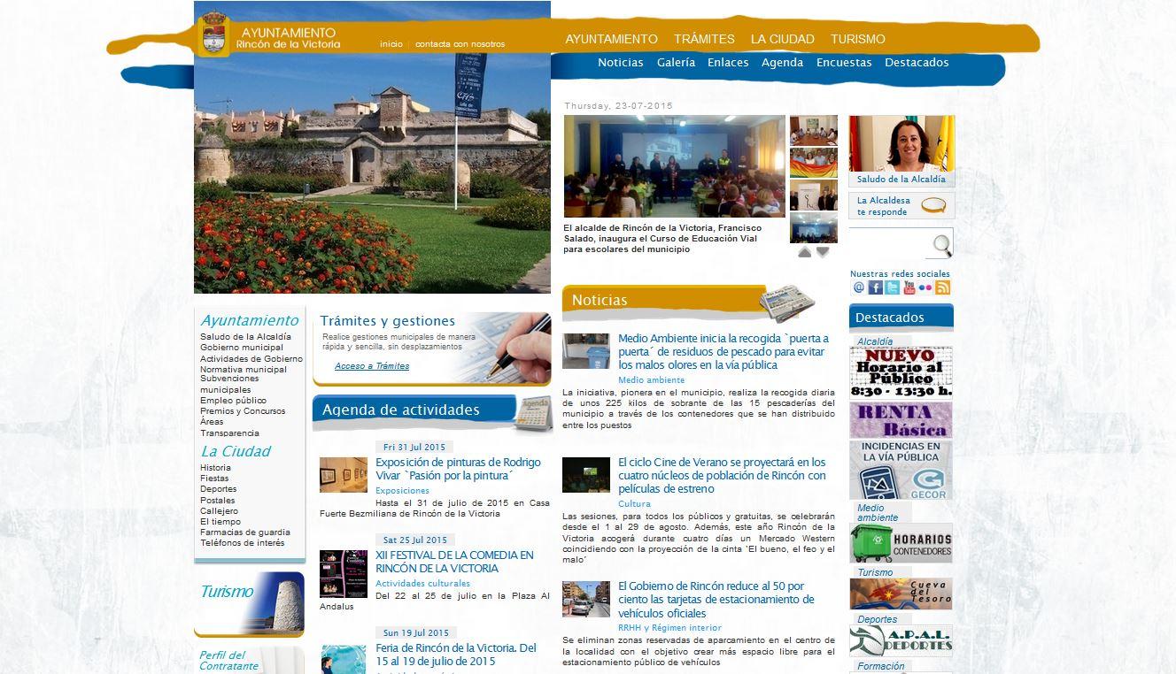 Arrinconados Web Municipal