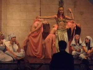 Arrinconados Corte Faraon