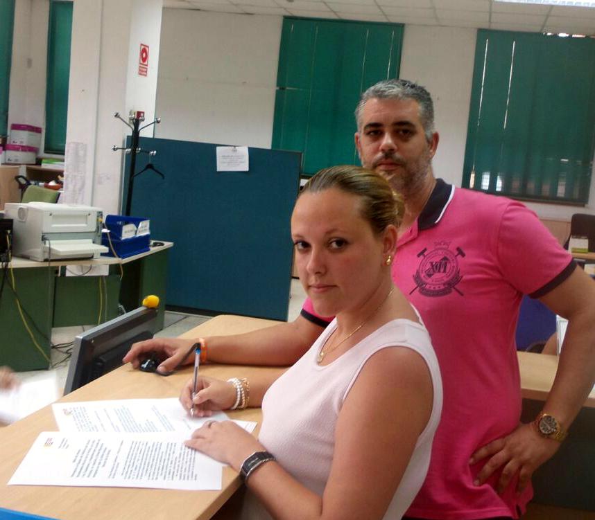 Arrinconados Elena Aguilar y Óscar Campos, de C's