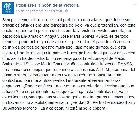 Arrinconados PP FB