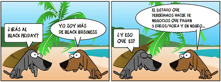 Arrinconados Black Business