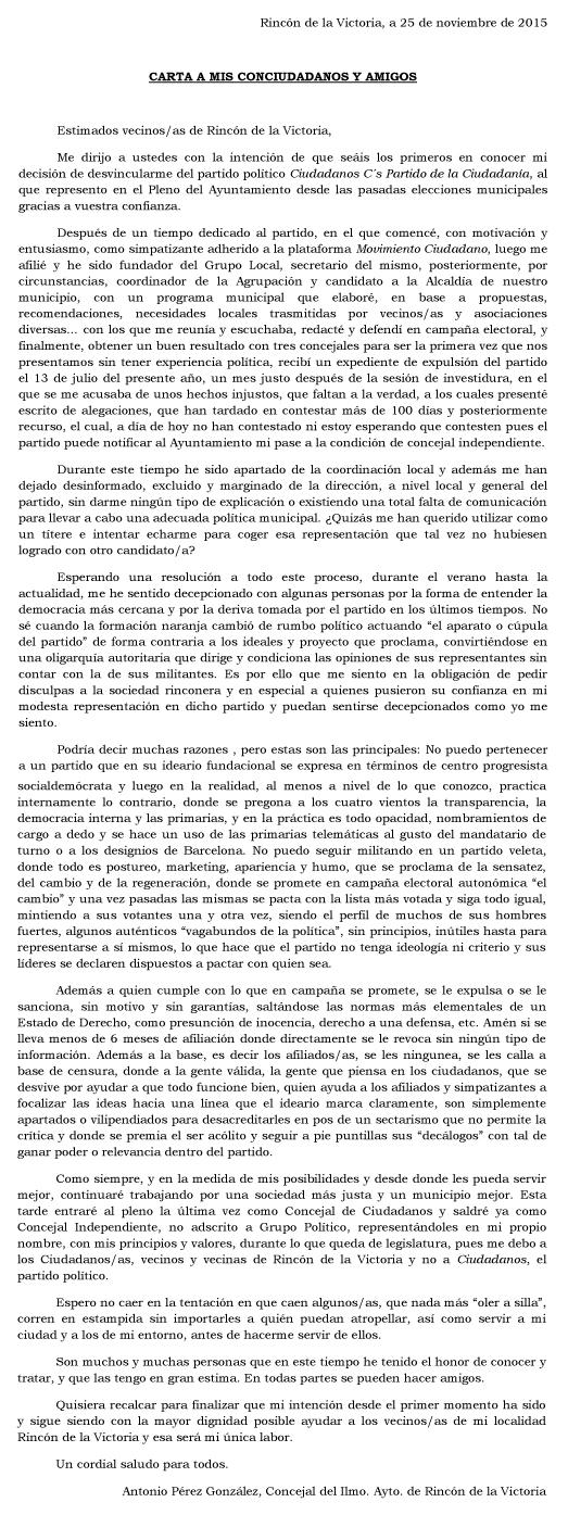 Arrinconados_Carta_Perez