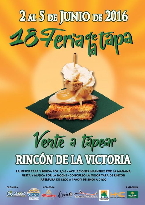 Arrinconados Feria Tapa Cartel