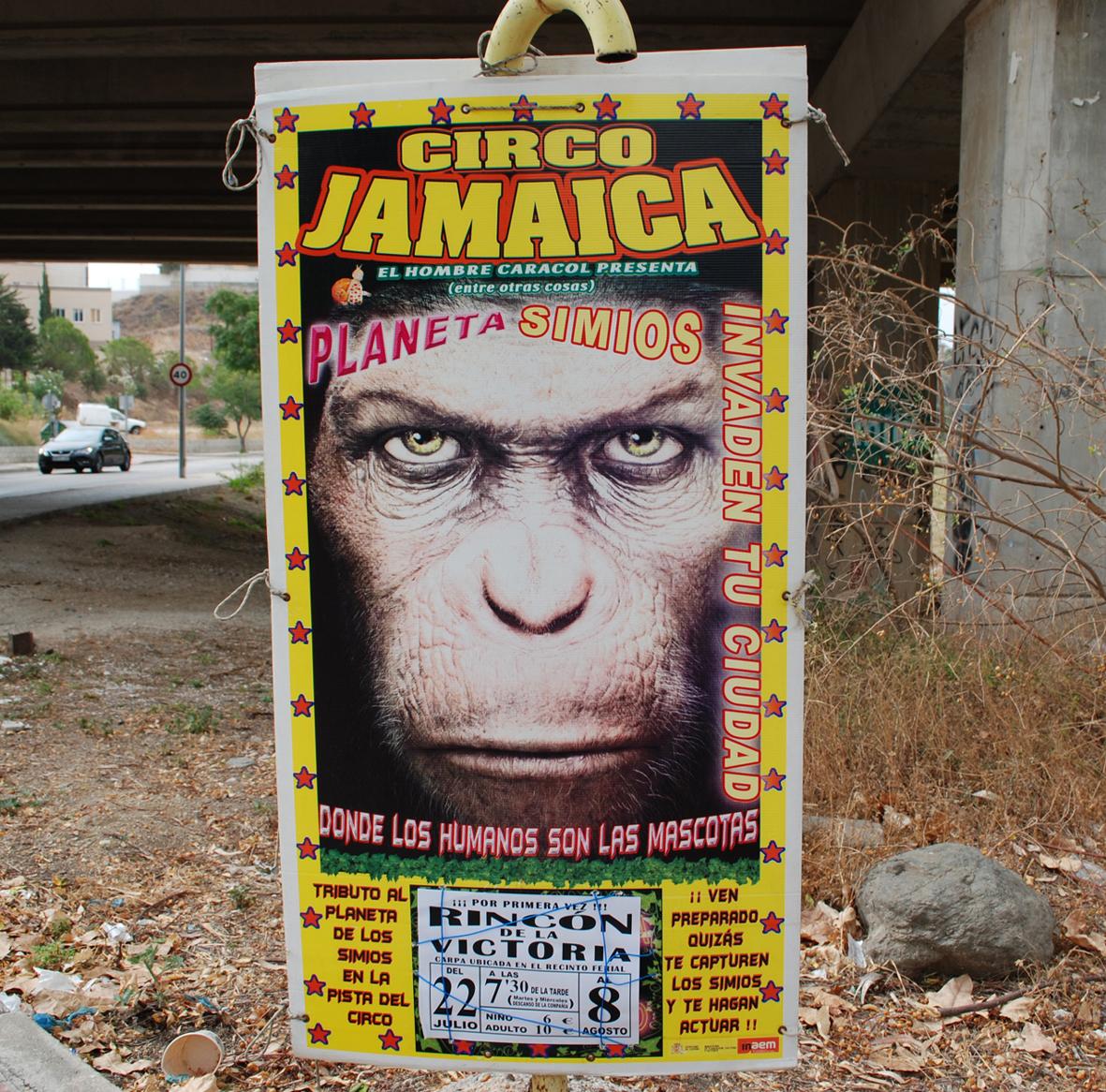 Arrinconados Circo Jamaica