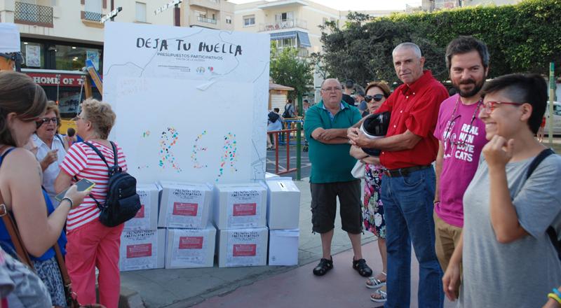 Arrinconados Urnas Presupuestos Participativos