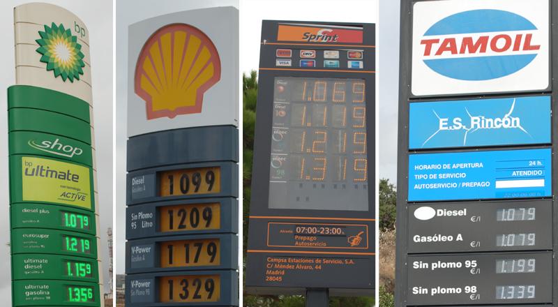 Arrinconados Gasolineras