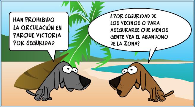 Arrinconados Parque Victoria