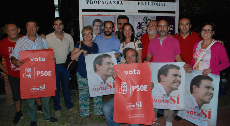 Arrinconados PSOE 26J