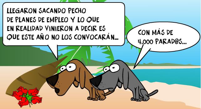 Arrinconados Planes Empleo PSOE