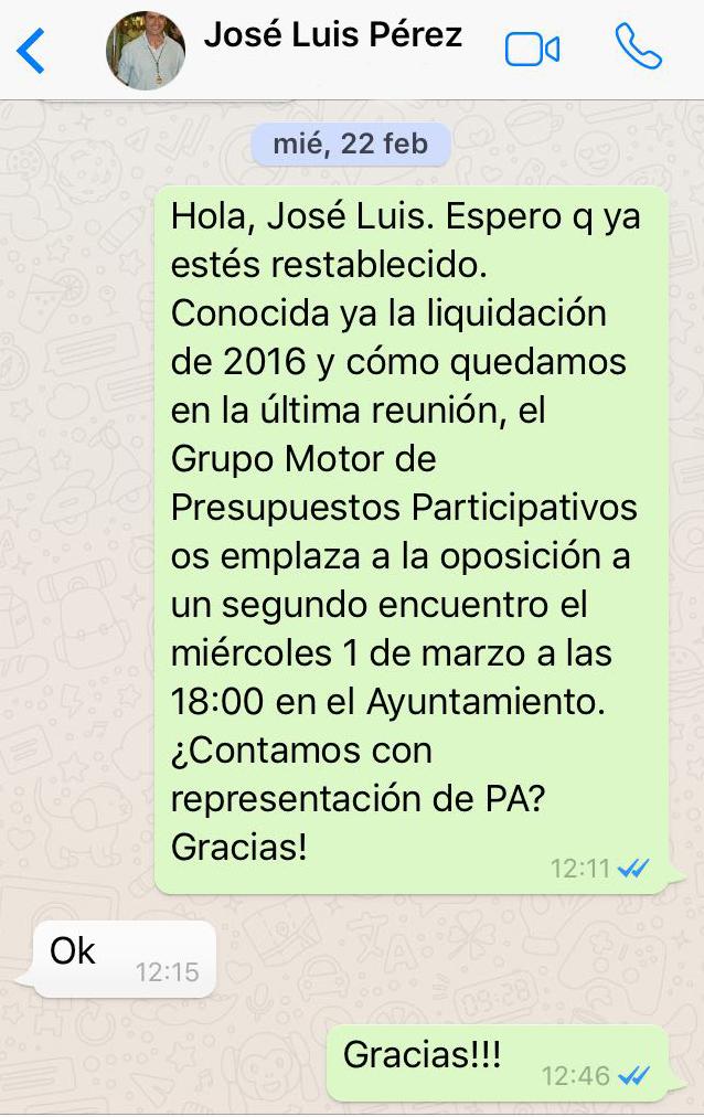 Arrinconados Pantallazo Pérez