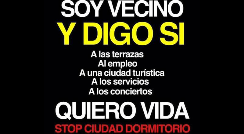 Arrinconados Stop Ciudad Dormitorio