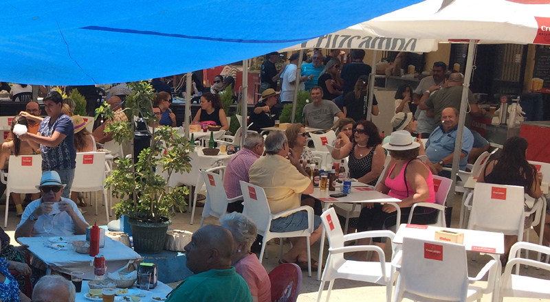 Arrinconados Feria La Cala